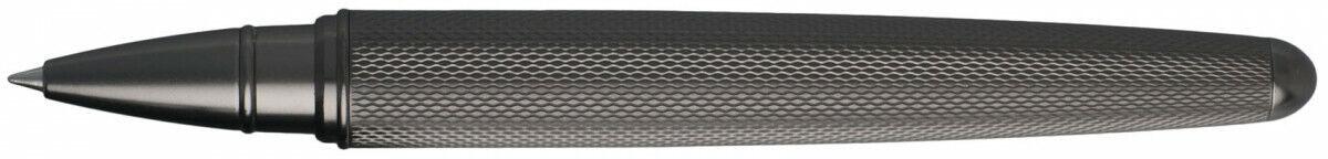 Hugo Boss Pure Matte Rollerball Pen, Dark Chrome, New in Box, $185, #HSY6035 Collectibles