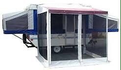 New Add- A-Room Tent for Pop-Up Trailer