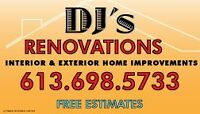 Renovations at your request