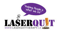 94-96% success rates with LaserQuit
