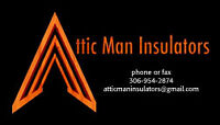 Attic Man Insulators *FREE ESTIMATES* Locally owned and Operated