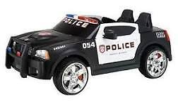 Kids 12 Volt Dodge Charger Police Car