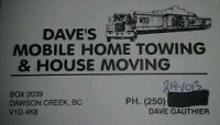 Daves Mobile Home and House Moving