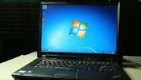 UPGRADED WINDOWS 7 THINKPAD LAPTOP, NEW BATTERY, HDMI DP CABLE