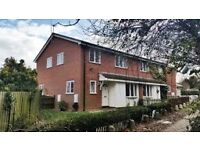 A 2 Bed house overlooking playingfields, ftd kitchen, gas ch, own garden, long let, good refs reqd.