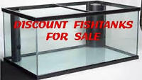 CASH and CARRY----USED FISH TANK