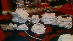 Unisex baby clothes newborn up to 0 3in Longwell Green, BristolGumtree - There is loads there never worn all whites and cream brilliant condition all washed and clean ready to use there around 50 iteams there everything yu need if yu dont know what your having you wont be disappointed