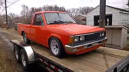 Looking for nissan 720 pickups