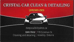 Crystal Clear Car Cleaning & Detailing Kitchener / Waterloo Kitchener Area image 1