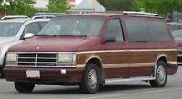 I buy burgundy dodge caravans