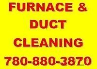 FURNACE & DUCT CLEANNING SPECIAL DEAL