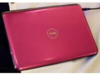 dell pink laptop