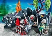 Playmobil 4147 Dragon Rock Compact Set with Knights Strathcona County Edmonton Area image 3