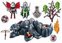 Playmobil 4147 Dragon Rock Compact Set with Knights Strathcona County Edmonton Area image 2