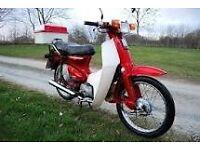 Wanted Honda C90 Moped
