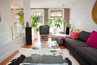 Condo fully furnished in Plateau Mont-Royal - 5 1/2