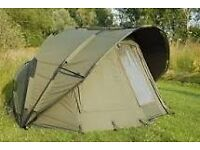 Chub bivvy and extended overwrap,
