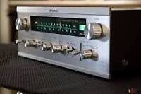 SONY str-6045 receiver solid state 1971