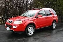Red bumper from a 2006 Saturn Vue