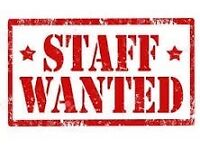 Experrienced takeaway staff required for full time & evening shifts