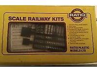 MINI LOT 52 Model Railway Hornby & Ratio Track Accessories OO gauge