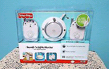 Fisher and Price baby light and sound monitor