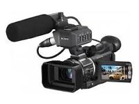 Sony hvr a1e camcorders excellent condition battery charger remote control