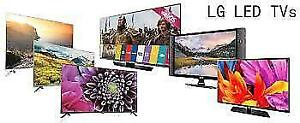 "LED TVS 4K TVS SMART TVS ALL SIZE 32"" TO 65"" SALE-FROM-$159.99"