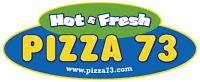 Pizza 73 hiring full time kitchen helper