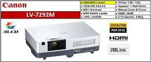 Brand New Canon HDMI Multimedia Projector   LV-7292M