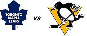 TORONTO MAPLE LEAFS VS PITTSBURGH PENGUINS THU 0CT 18TH 2 GREENS