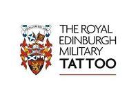 3 x Edinburgh Military Tattoo tickets for sale Saturday 26 August 2017 19:30