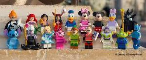 Full Set Lego Disney Minifigures Brand New
