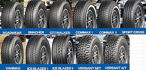 New Tires Sale! START from 59$ WE PROVIDE IN HOUSE FINANCING!