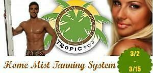 Tropic Spa Home Mist Tanning System - Spray Tan Machine and Self Tanner