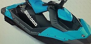 Sea-Doo SPARK Panel Kit - Blueberry