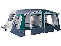 23ft Green Siesta Caravan Awning