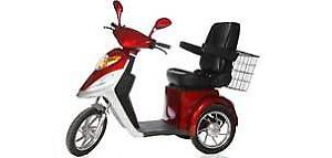 Electric 3 wheeled Cycle
