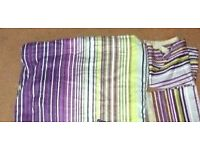 PURPLE DOUBLE BED DUVET SET