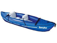 Sevylor Inflatable 2 person Kayak, Canoe