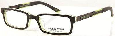 NEW Kids' Frame Skechers 1027 C99 Black Green glasses & case 0242