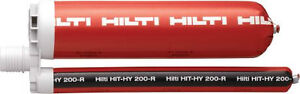 Hilti HIT-HY 200-R Structural Adhesive and Blow-Out Pump Oakville / Halton Region Toronto (GTA) image 1