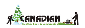 Canadian Weather Snow And Landscaping offering our services!