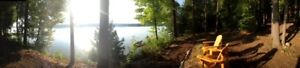 Waterfront cottage for rent August 17-24 Kawarthas: reduced rate