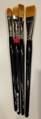 Lot of Loew - Cornell Artist Paint Brushes New for sale  Shipping to India