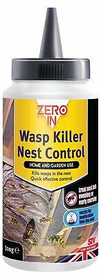 300g Wespe & Nest Killer Pulver Schnell Tötet Schädlingsbekämpfung Insekten Heim