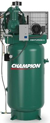 Champion Vrv5-8-1p 230v Air Compressor 5 Hp Single Phase 80 Gallon Two Stage