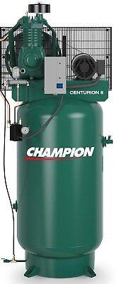 Champion Vrv5-8-1p 230v Air Compressor 5 Hp Single Phase 80 Gallon Two Stage