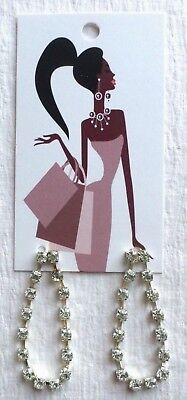 100 Boutique Earring Display Fashion Jewelry Cute Fashion Lady Earring Rack Card