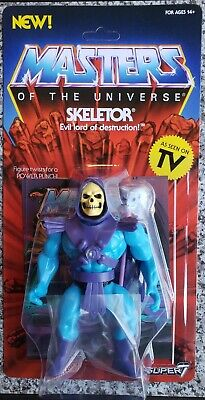 He-Man Masters of the Universe Skeletor Figure Super 7 Mattel Unpunched (Mens Of Name)